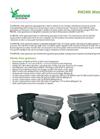 RW240L Motor Gearboxes Datasheet