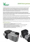 RW600F Motor Gearboxes Datasheet