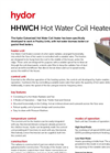 Hydor - Hot Water Coil Heater Brochure