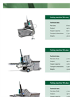 Mayer 2105 Potting / Tray Filling Machine Brochure