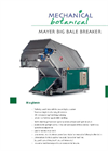 Mayer BZ 160 Big Bale Breaker Brochure