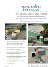 Willburg Label Applicator Brochure
