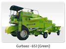 Gurbaaz - Model 652 (Green) - Combine Harvester