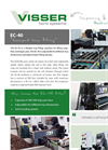 Visser Horti - Model EC-40 - Flexible Tray Filling Machine Specifications Brochure