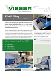 Visser Horti - Model FX-400 - Tray Filling Machine Specifications Brochure