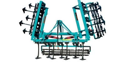 Soilmaster - Hydraulic Collapsible Cultivator Single Row Rotating Harrow Combination Cultivator