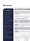 Accounts Payable - Brohure