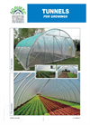 Model TSR - Tunnels Greenhouses Brochure