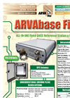 ARVAbase - Fixed or Mobile GNSS RTK Reference Station- Brochure