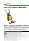 GERKY - Model MTF 1+1 - Mowing Machines Brochure