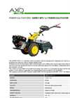 GERKY - Model MTC 1+1 - Power Cultivators Brochure