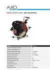 Model AMT G25 - Petrol Low Head Engine Driven Pumps - Brochure