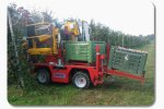 Pomac - Self Propelled Fruit Harvester