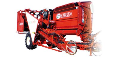 One-Row Harvester With 5 Tons Tank-1