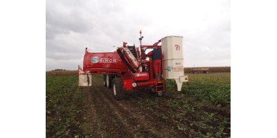 One-Row Harvester With 5 Tons Tank-2