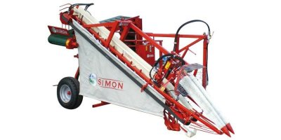 Simon - Model RPN3TMR - Leek Harvester With Discharge Elevator
