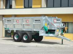 Bossini - Model SBP/L BIG - Manure Spreader