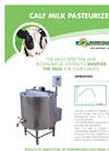 Calf Milk Pasteurizer- Brochure