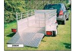 D W Tomlin - Model 2060HT - Fully Galvanised Stock Trailers