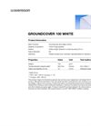 Model 100 WHITE - Groundcover and Weed Control - Brochure