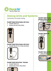 Floralife, FloraCare - Dosing Systems Brochure