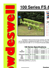 Dowdeswell - Model 100 Series FS & FR - Plough Datasheet
