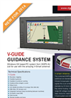 Model V-Guide - Guidance Systems Brochure