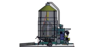 Model ES300T - Large Mobile Grain Dryers