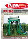 Model CMA 250 - Front Loopping Machine for Orchards- Brochure