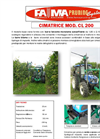 Model CL200 - Lopping Machines for Vineyard Brochure
