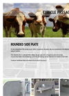 Cubicles for Cattle Plate Passage Cubicles- Brochure