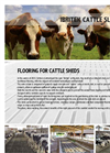 Ibritek - Flooring for Cattle Sheds Brochure