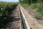 Prefabricated Concrete Irrigation Channels