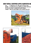 Tuthill - Model 2015 - Centipede Harvester- Brochure