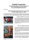 Tuthill - Model SL81e - Multi Directional Tree Shaker Brochure