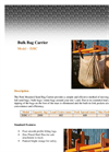 Bulk Bag Carrier Brochure
