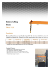 Battery Lifting Beams Brochure