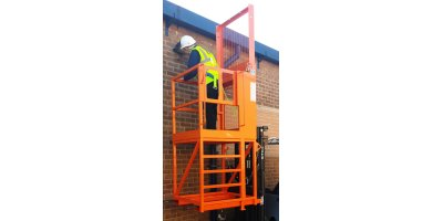 High Lift Access Platform Forklift Attachment