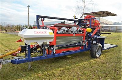 JAREK  - Model 5  - Harvester for currants, haskaps, gooseberry