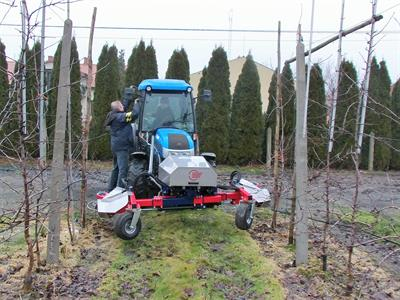 JAGODA JPS - Model 2018 - Automatic Hydraulic Weeder ZANA