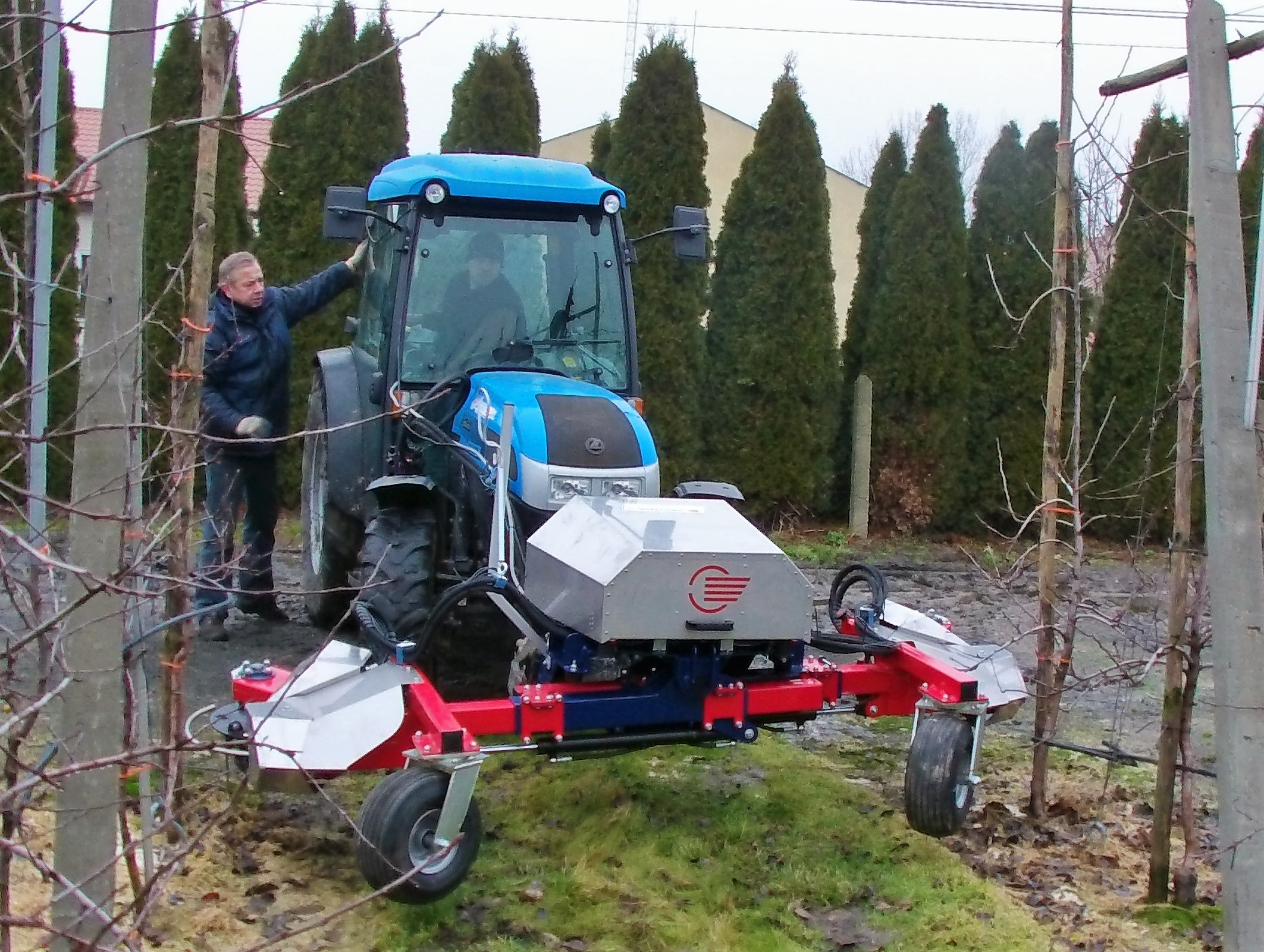 Automatic Hydraulic Weeder-0