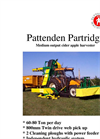 Partridge Medium Output Cider Apple Harvester Brochure