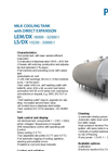 Model LEM/DX 18000 - 32000 - Milk Cooling Tank Brochure