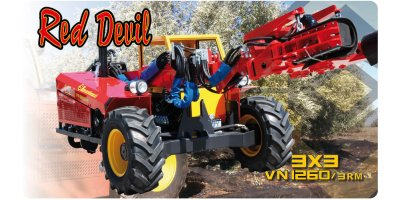 Berardinucci Red Devil - Model RD 1350 - Self Propelled Vibrating Device