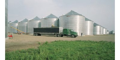 Brock - On Ground Wide Corrugation Silos