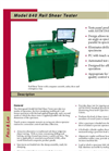 Model 840 - Rail Shear Tester Brochure