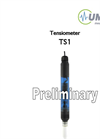 Model TS1 - Self Refilling Tensiometer Brochure