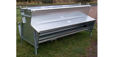 Model 600kg and 300kg - Galvanised Hog Feeder