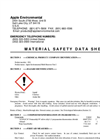 MSDS Apple Environmental Meth Remover Part 1