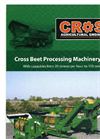 Cross Agricultural Engineering - - Gazelle Beet Washer/Chopper Brochure